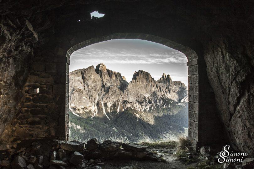 Scorcio sulle Pale di San Martino - di Simone Simoni